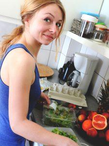 cocina para una