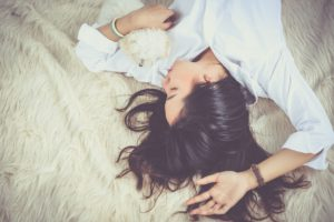 descansar para dejar la mente en blanco